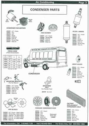 AC Condenser Fans for School Buses