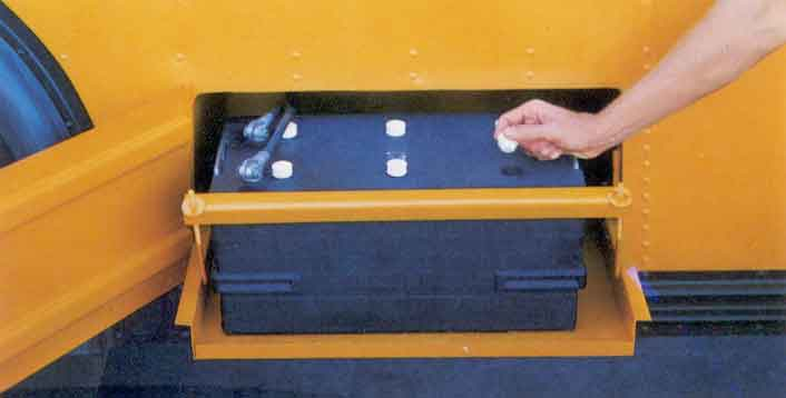 School Bus Battery Box Parts