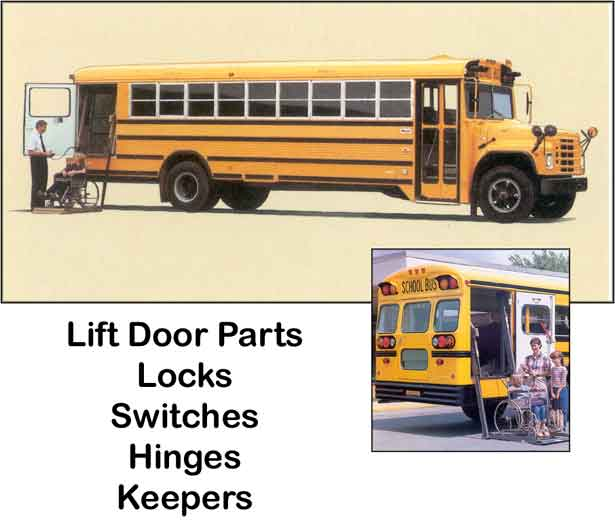 School Bus Lift Door Parts