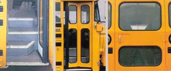 School Bus Door Parts & Bus Door Parts