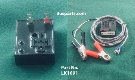 LK1691 Relay Tester for Flashers on School Bus