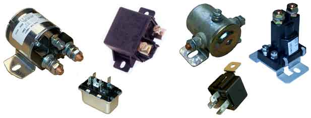 School Bus Relays and Solenoids