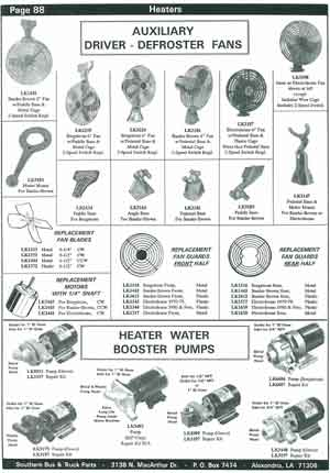Water Booster Pumps for School Bus Heaters