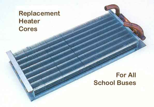 School Bus Heater Cores