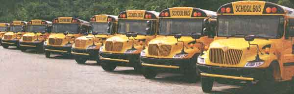 International IH School Bus Chassis Parts