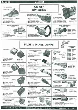 Indicator Lamps for School Buses
