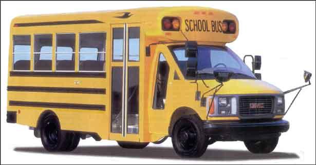 Micro Bird School Bus Parts