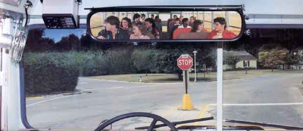 School Bus Interior Mirrors