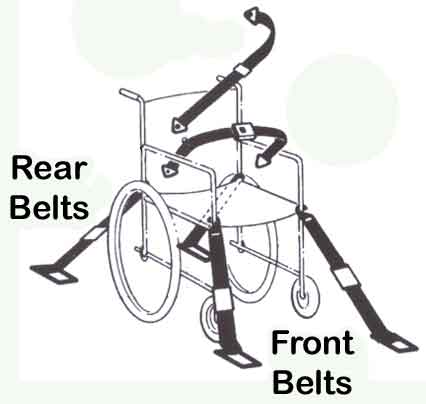 Wheelchair Tie-Downs For School Buses