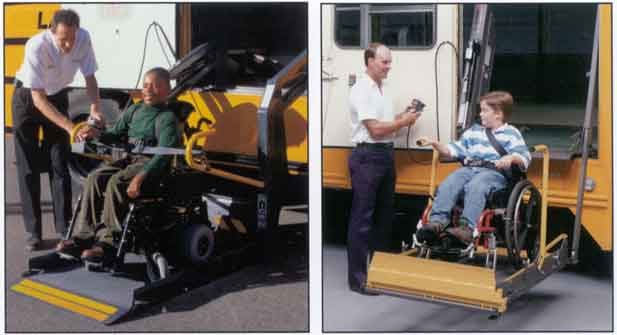 School Bus Wheelchair Lift Parts